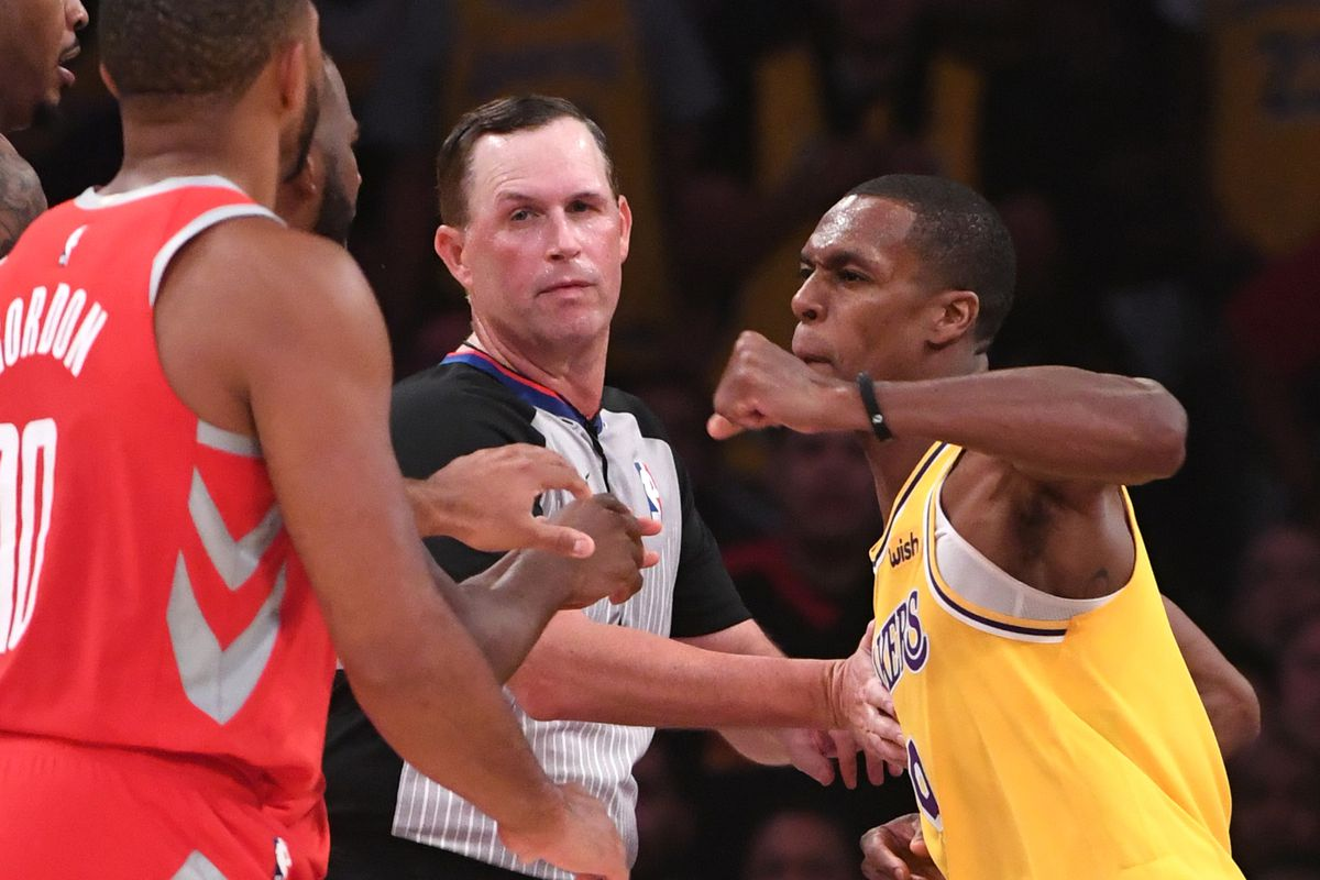 Lakers vs. Rockets fight reaction: Spit accusation ...