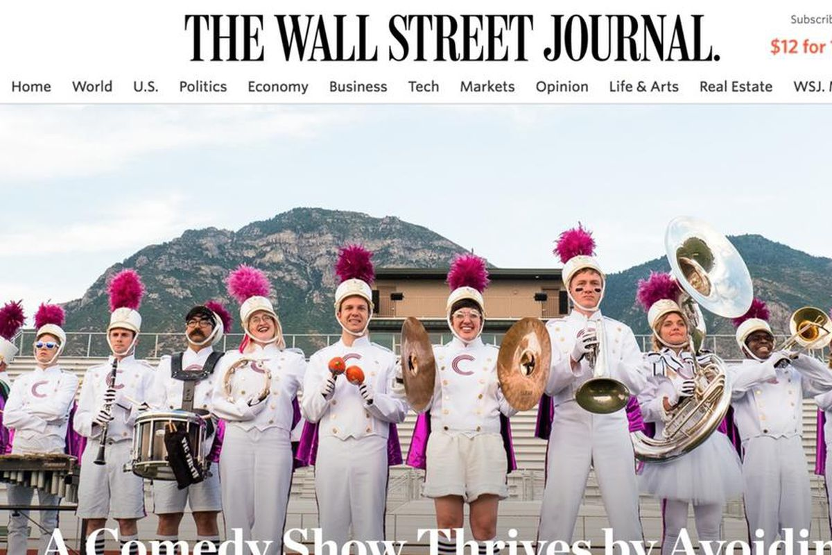 """""""Studio C,"""" a show featuring clean comedy troupe from Brigham Young University, airs on BYUtv."""