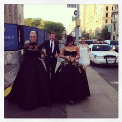 """<a href=""""http://instagram.com/p/Y_WEpXhSqs/"""">Marchesa</a>: Like punk but also Victorian."""