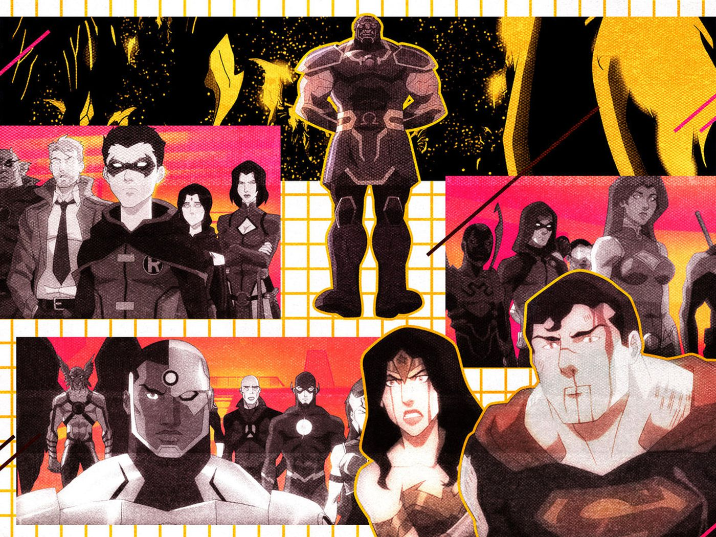 Before The Snyder Cut Watch Justice League Dark Apokolips War The Ringer