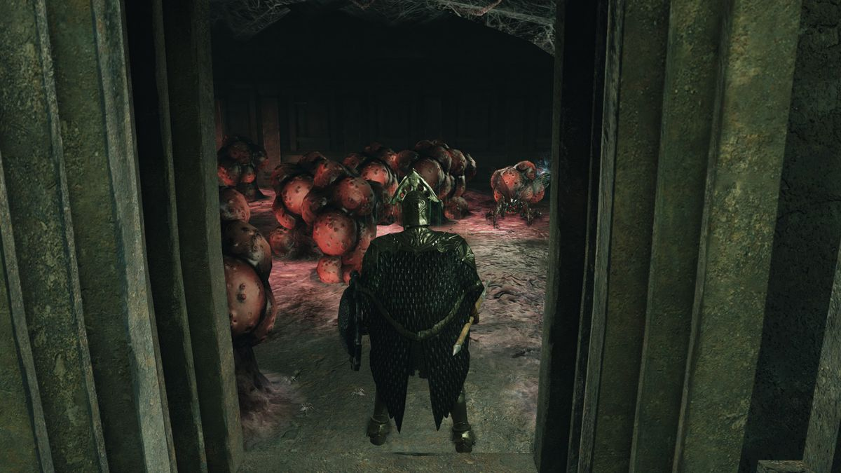 Dark Souls 2 Crown of the Sunken King - Sanctum Walk 3
