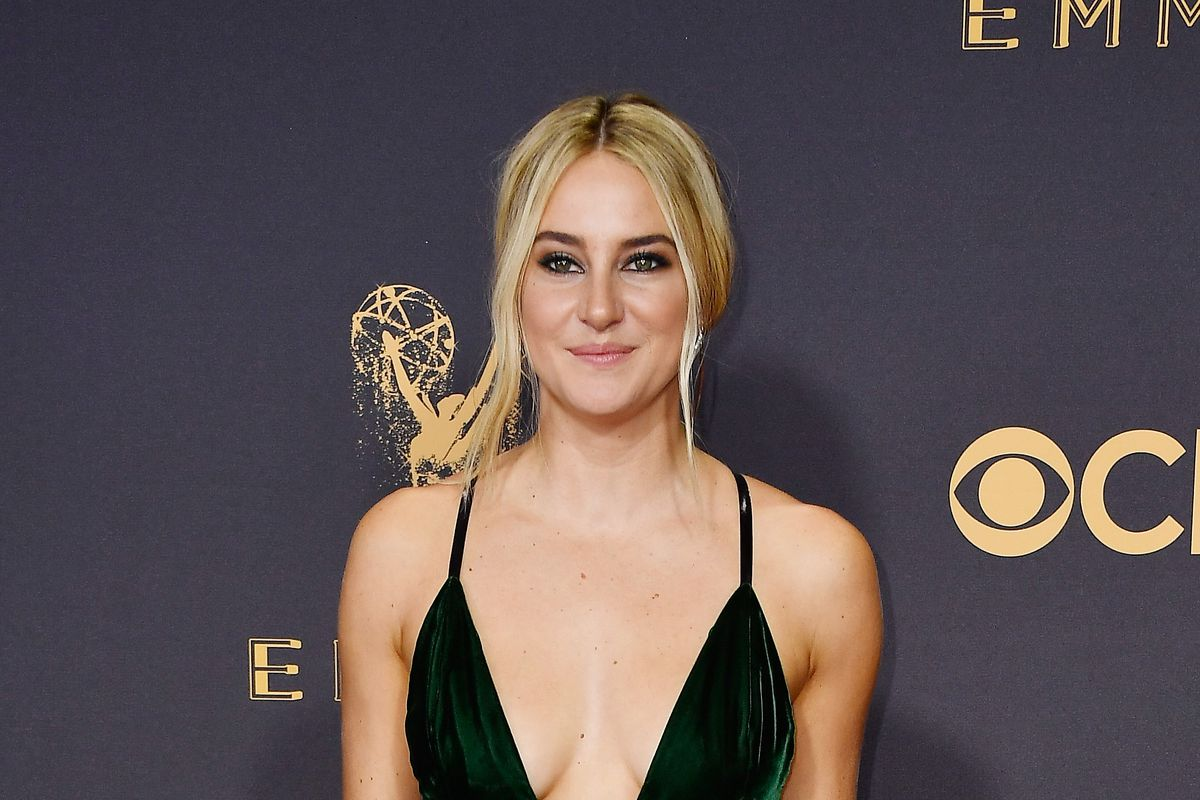 Shailene Woodley Takes A Deep Plunge On The Emmys Red Carpet