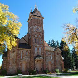 The Bear Lake Tabernacle in Paris, Idaho, in 2015.
