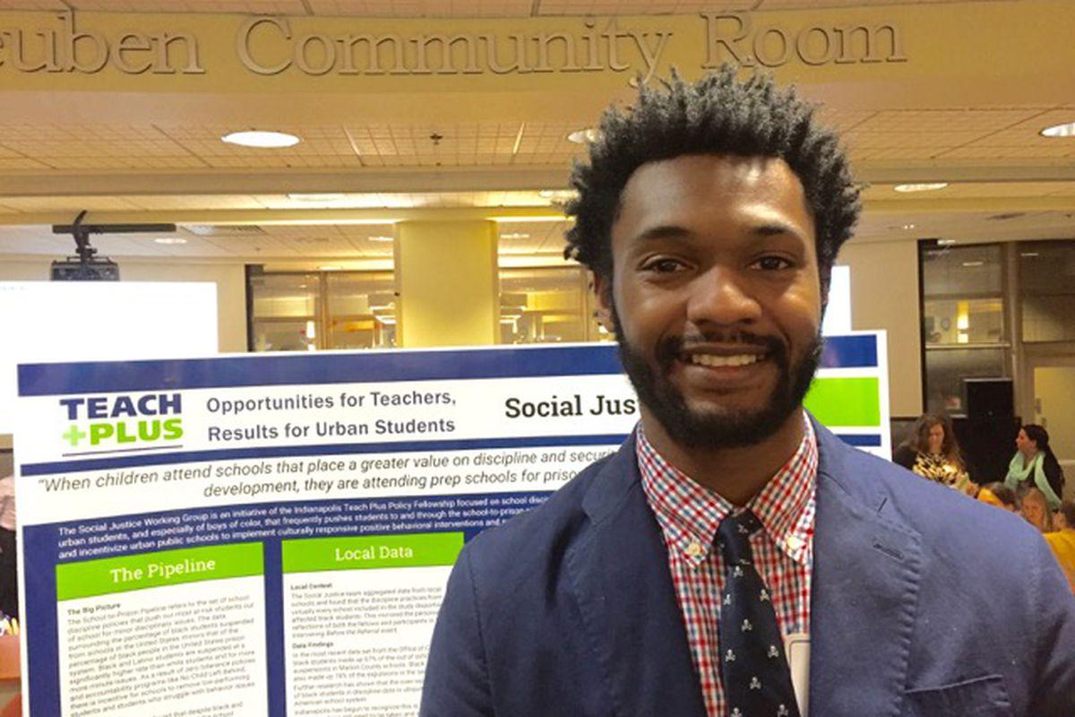 Andrew Pillow teaches fifth grade social studies  at KIPP Indianapolis.