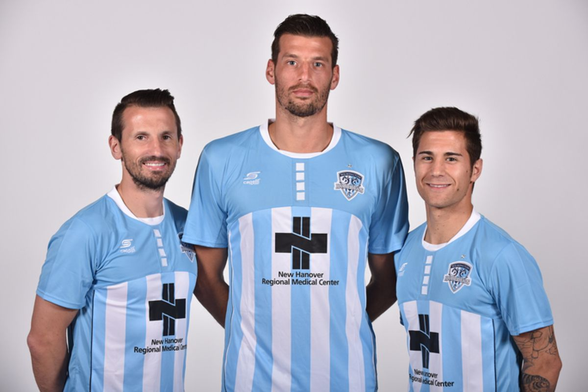 L to R:  Liam Miller, Bruno Perone, and Josue Currais Prieto