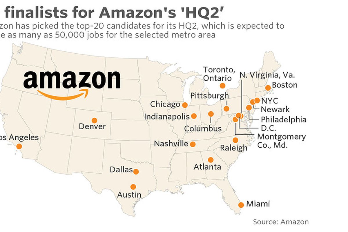 Amazon HQ2 in Atlanta: These two groups have become suitors versus ...