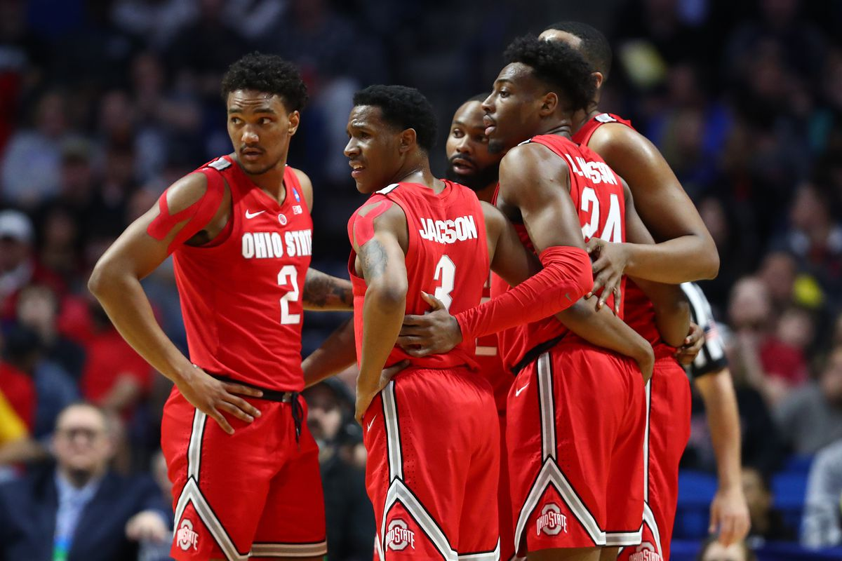 d197bdcc65e5 No. 11 Ohio State upsets No. 6 Iowa State in NCAA Tournament first round