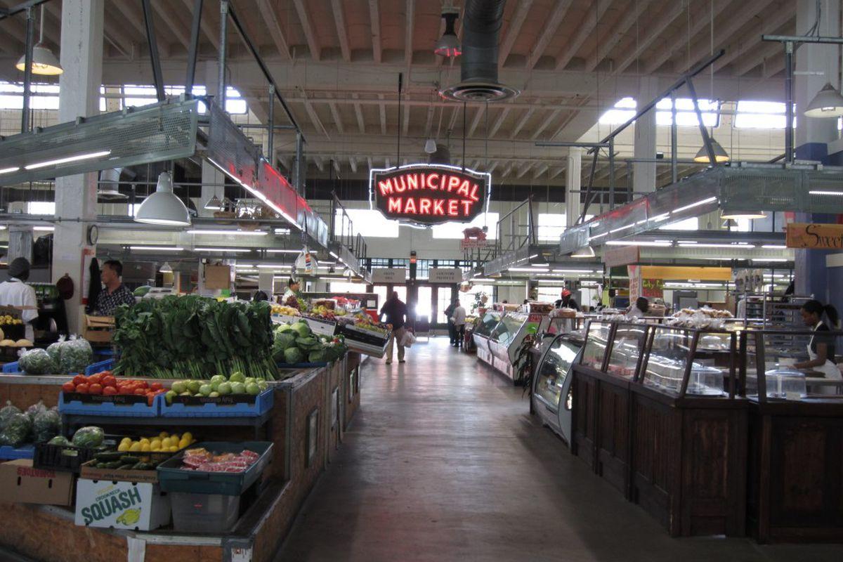 Sweet Auburn Curb Market.