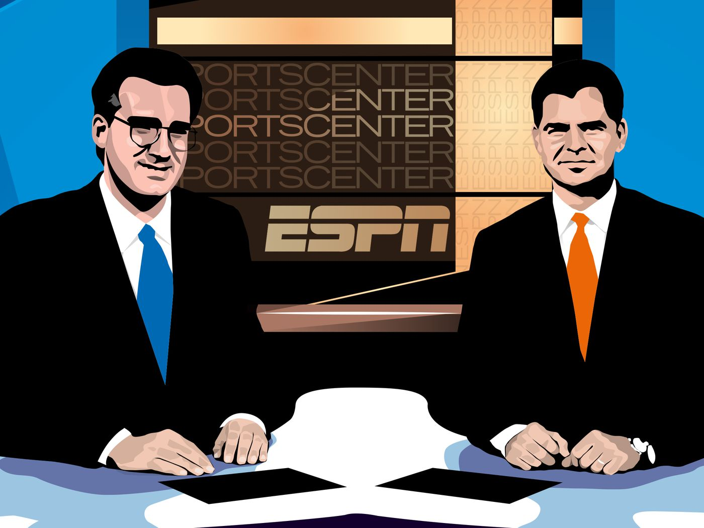 How Dan Patrick And Keith Olbermann S Sportscenter Changed Tv Forever The Ringer