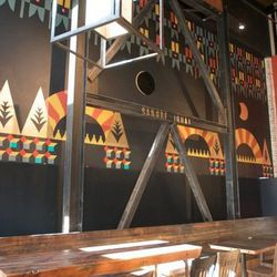This is Duende's signature wall mural.