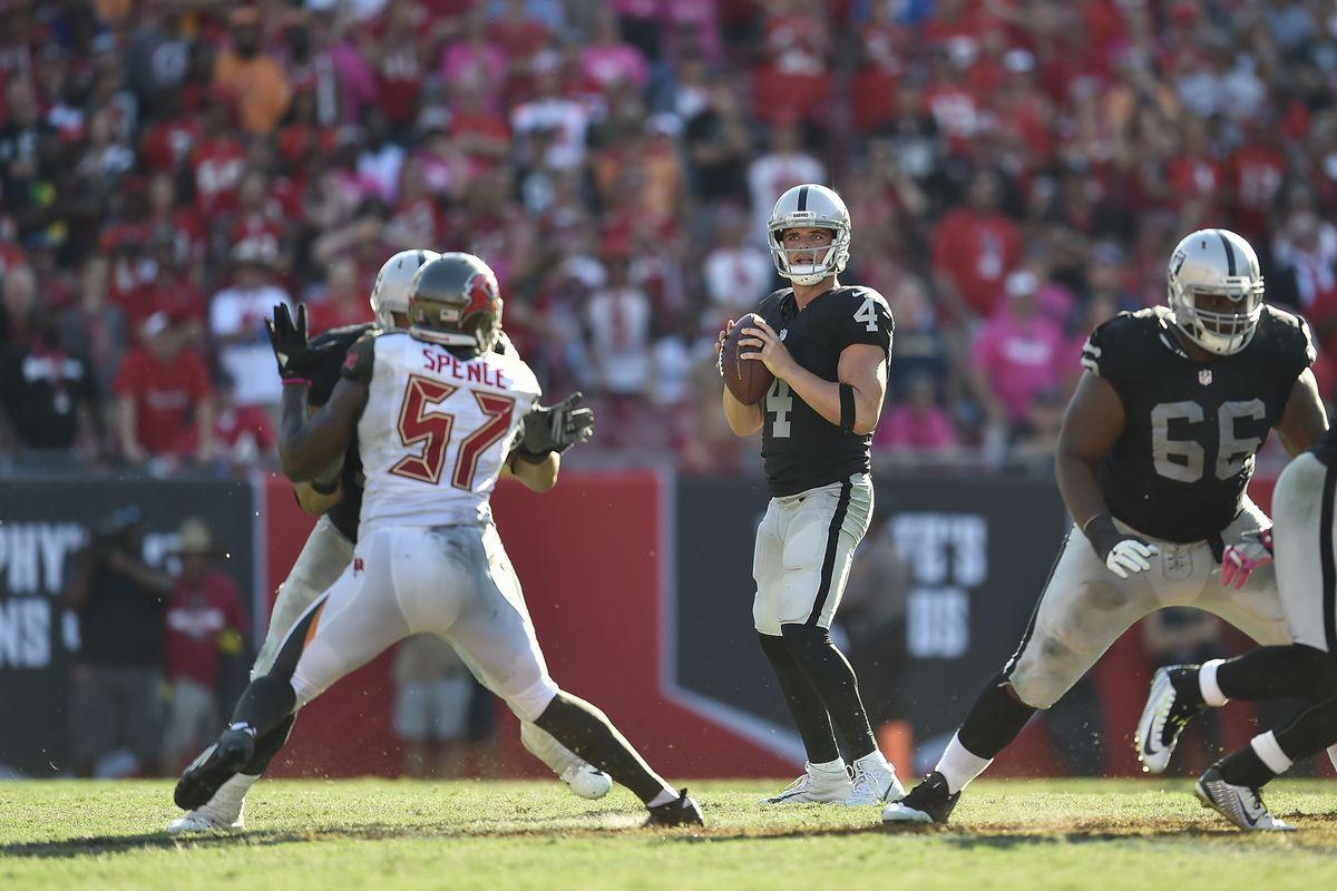 NFL: OCT 30 Raiders at Buccaneers