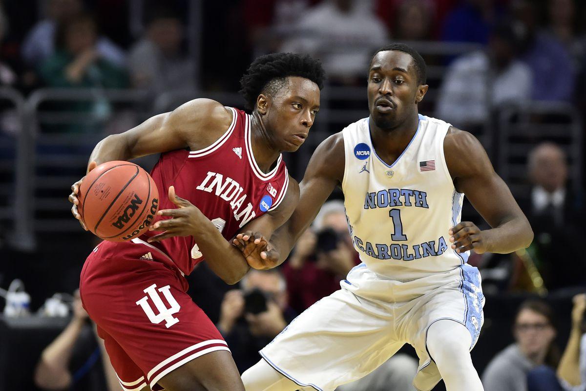 NCAA Basketball: NCAA Tournament-East Regional-North Carolina vs Indiana