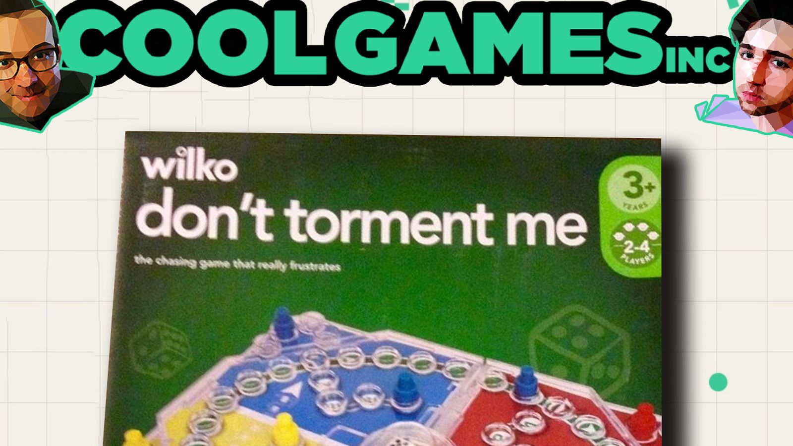 CoolGames Inc Animated: Why is there a board game called 'Don't Torment Me'?