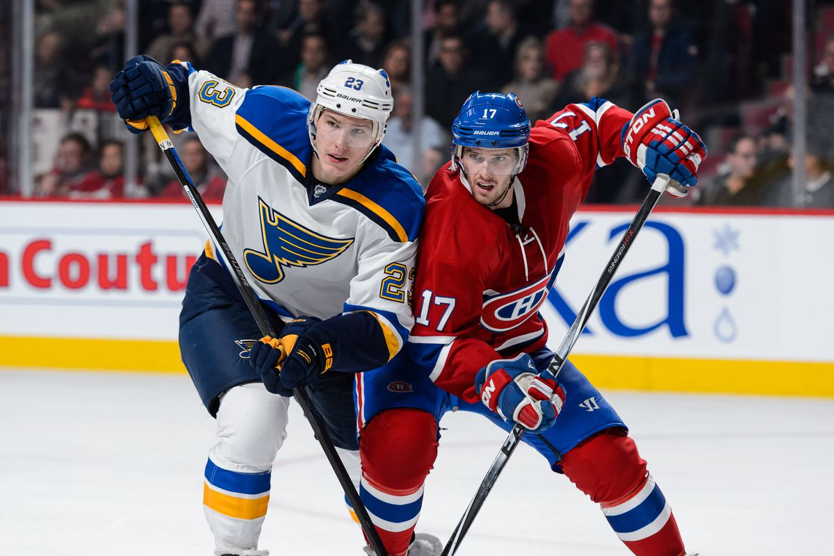 St Louis Blues v Montreal Canadiens