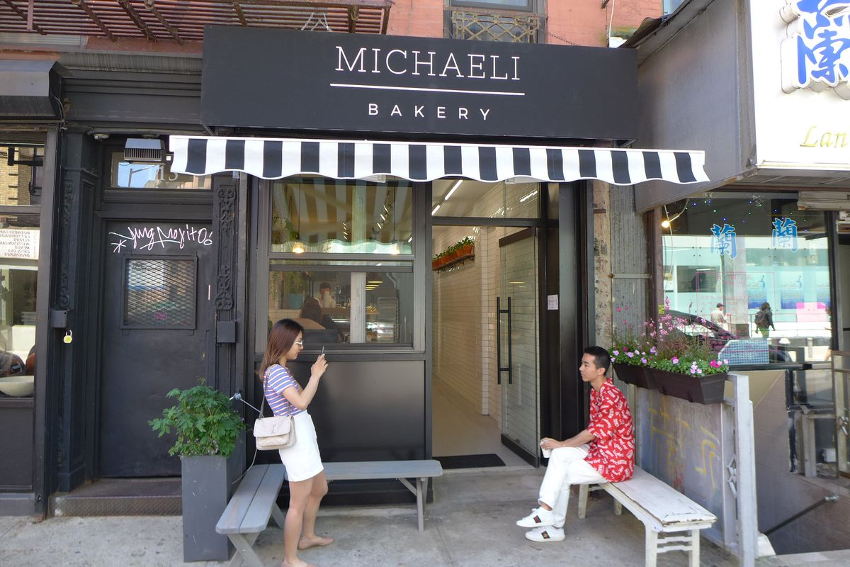 Michaeli provides some outdoor seating.