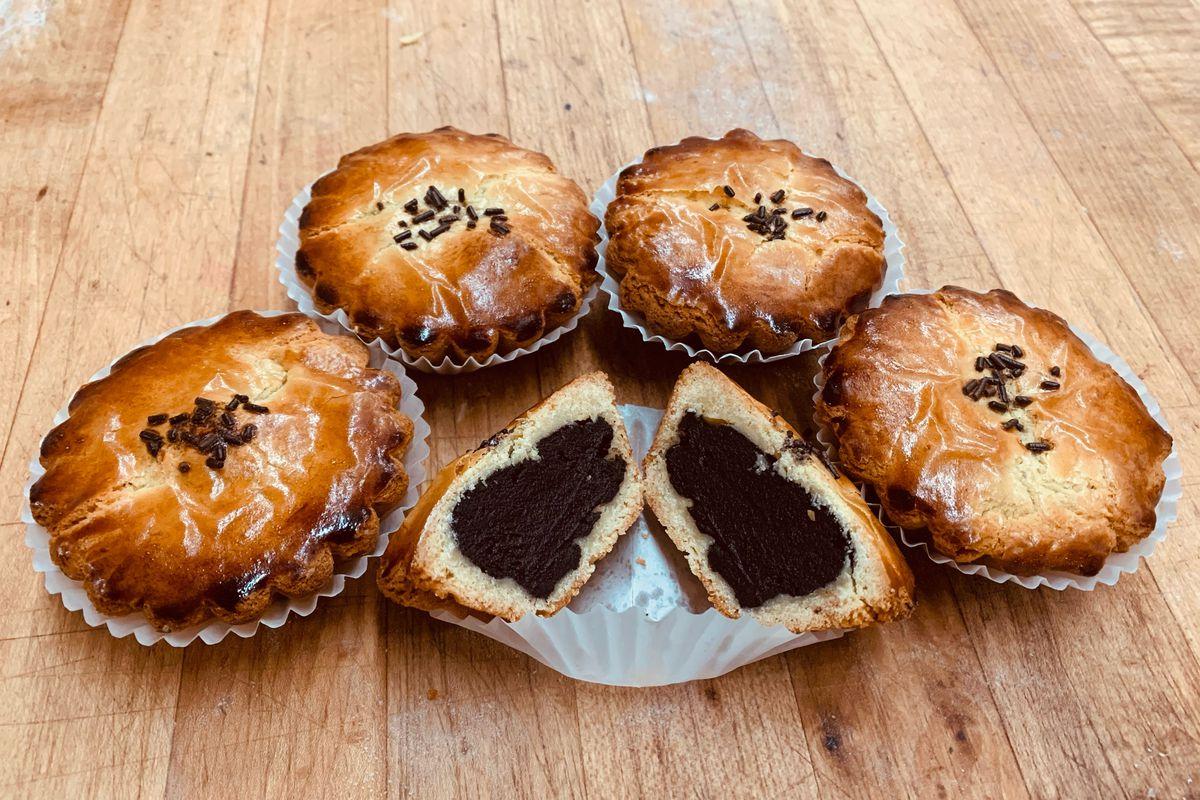 Sanguinaccio tart from Gino's