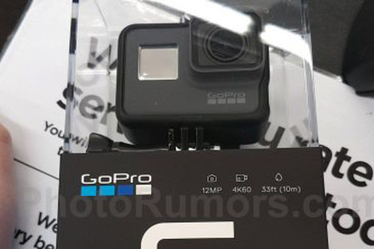 is this the new gopro hero 6 black the verge. Black Bedroom Furniture Sets. Home Design Ideas