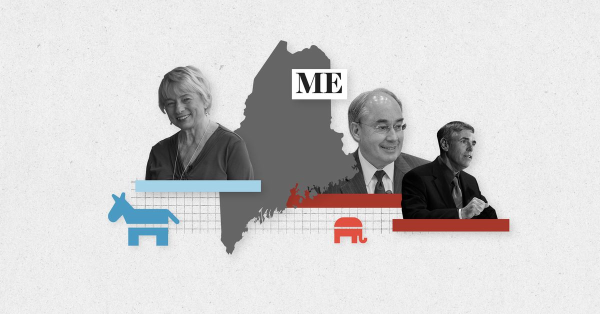 Live results for Maine governor and House primary elections