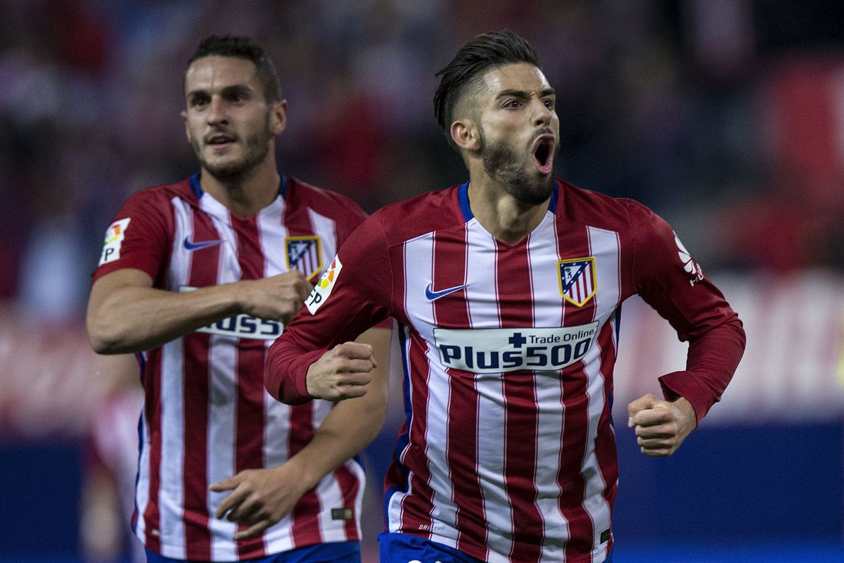 Yannick Carrasco Takes Number 10 Shirt Into the Calderon