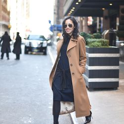 """Anh Sundstrom, <a href=""""http://9to5chic.com/2015/02/new-york-1.html"""">9 to 5 Chic</a>"""