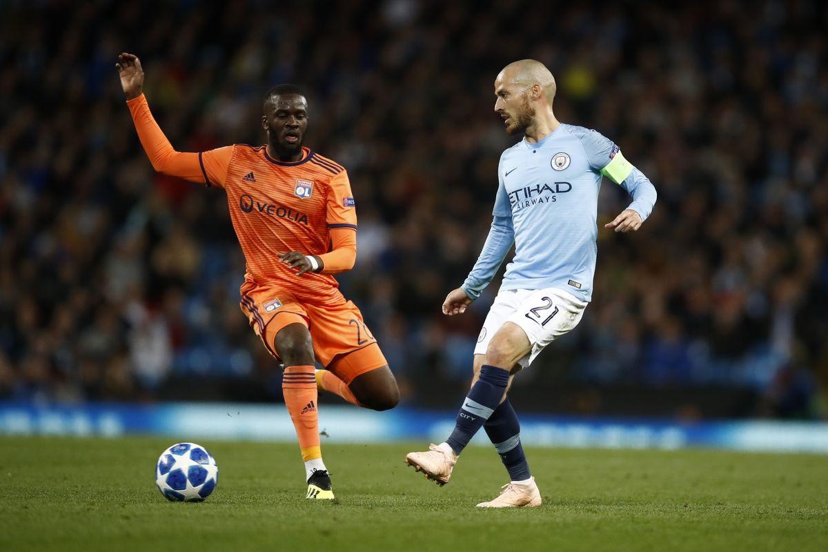 Olympique Lyonnais vs Manchester City, UEFA Champions League ...