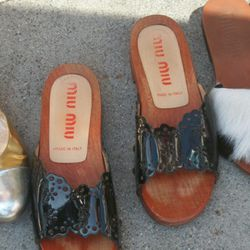 Miu Miu clogs, offered by Birds of a Feather vintage