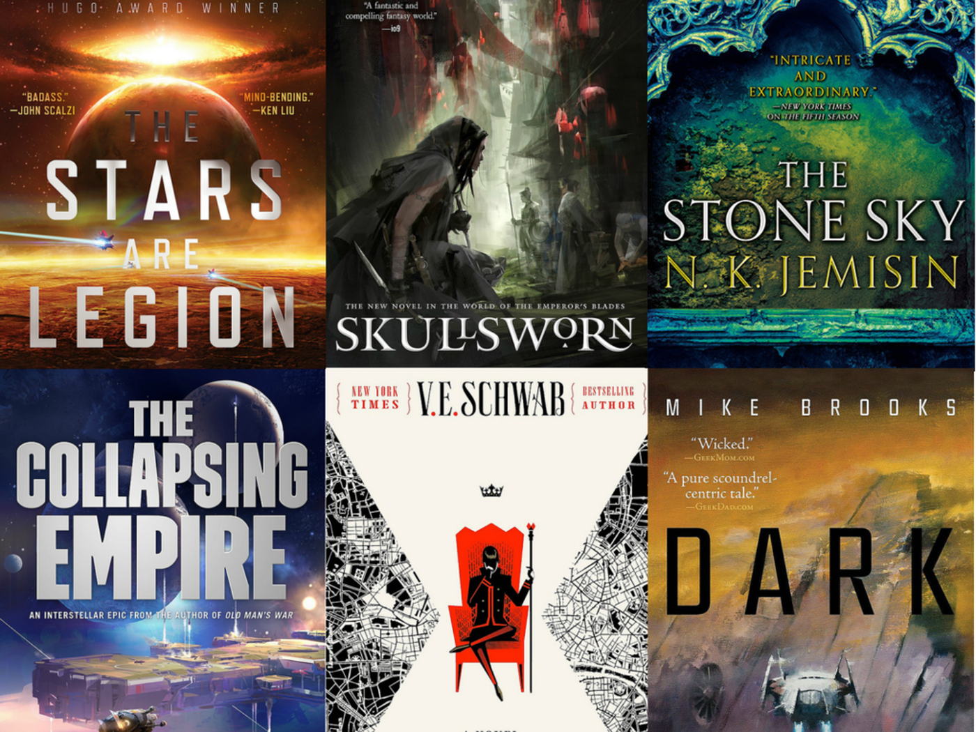 33 science fiction and fantasy books that everyone will be