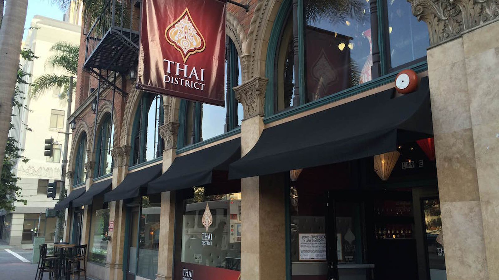 Thai Food Downtown Portland Menu