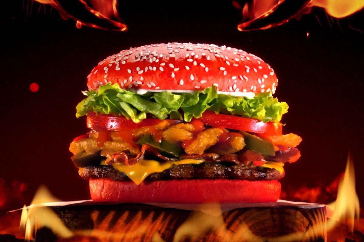 Feel The Wrath Of Burger Kings Hot Sauce Bun
