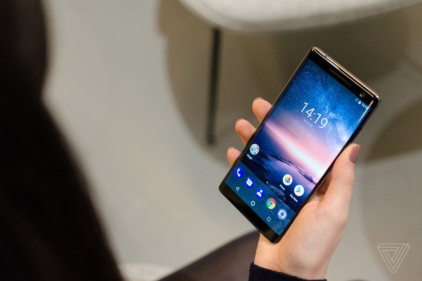 The Nokia 8 Sirocco is a curved glass Android flagship with no