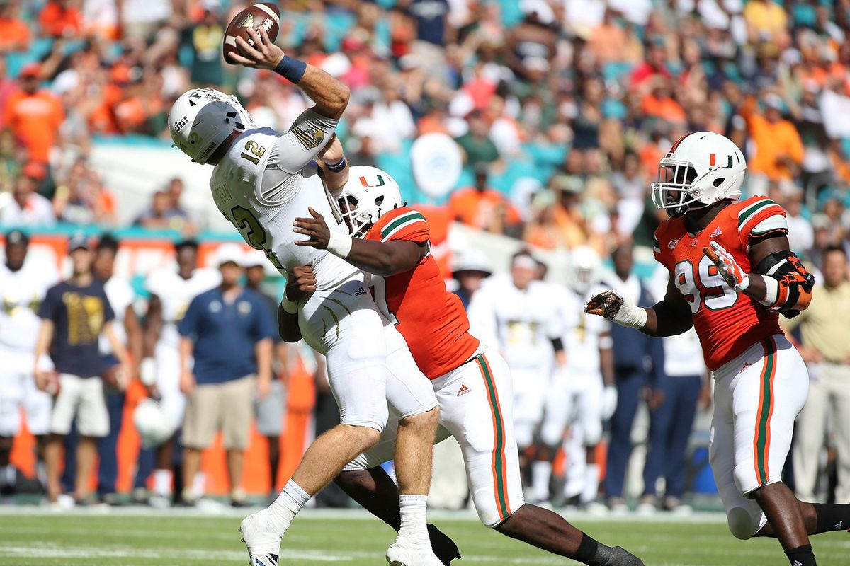 Despite one sack, this Miami Hurricanes defensive lineman has been a bright spot