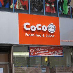 Coco Fresh Tea & Juice via Midtown Lunch