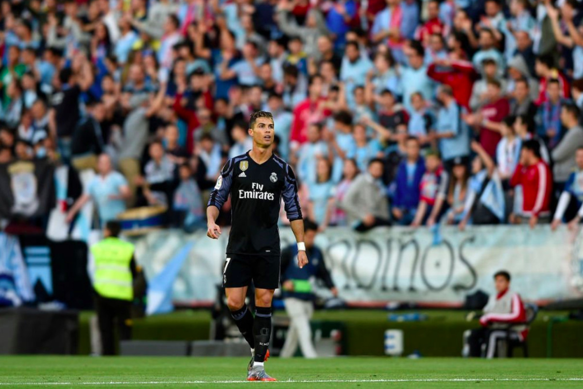 Real Madrid Took Advantage Of A Ridiculously Open Celta Vigo Defense To Come Away With A   Victory Guidetti Ronaldo X Benzema Kroos