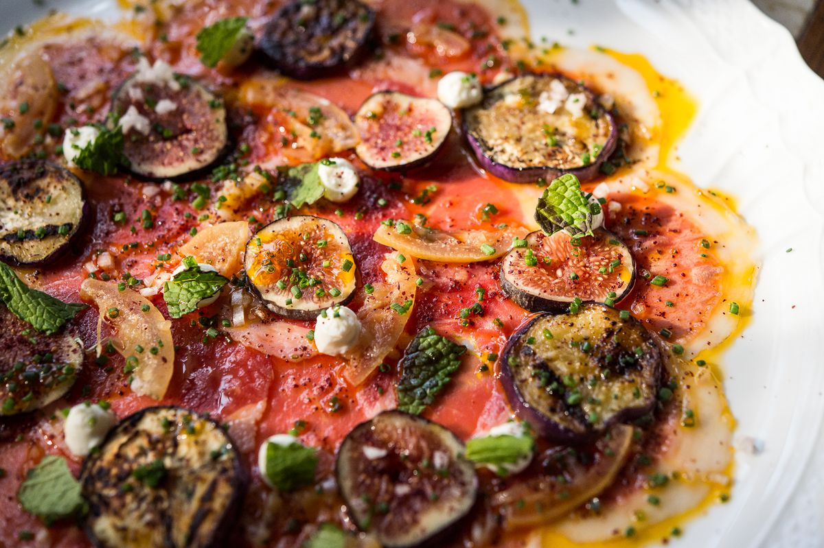 Dirty French carpaccio