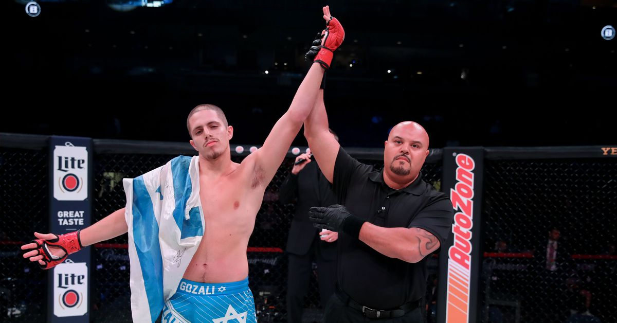 For 18-year-old Bellator phenom Aviv Gozali, record 11-second submission may be tip of iceberg
