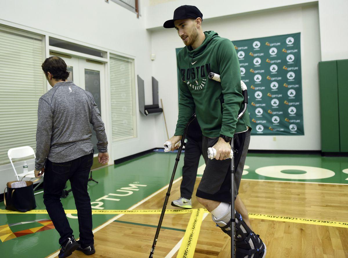 NBA: Boston Celtics-Press Conference
