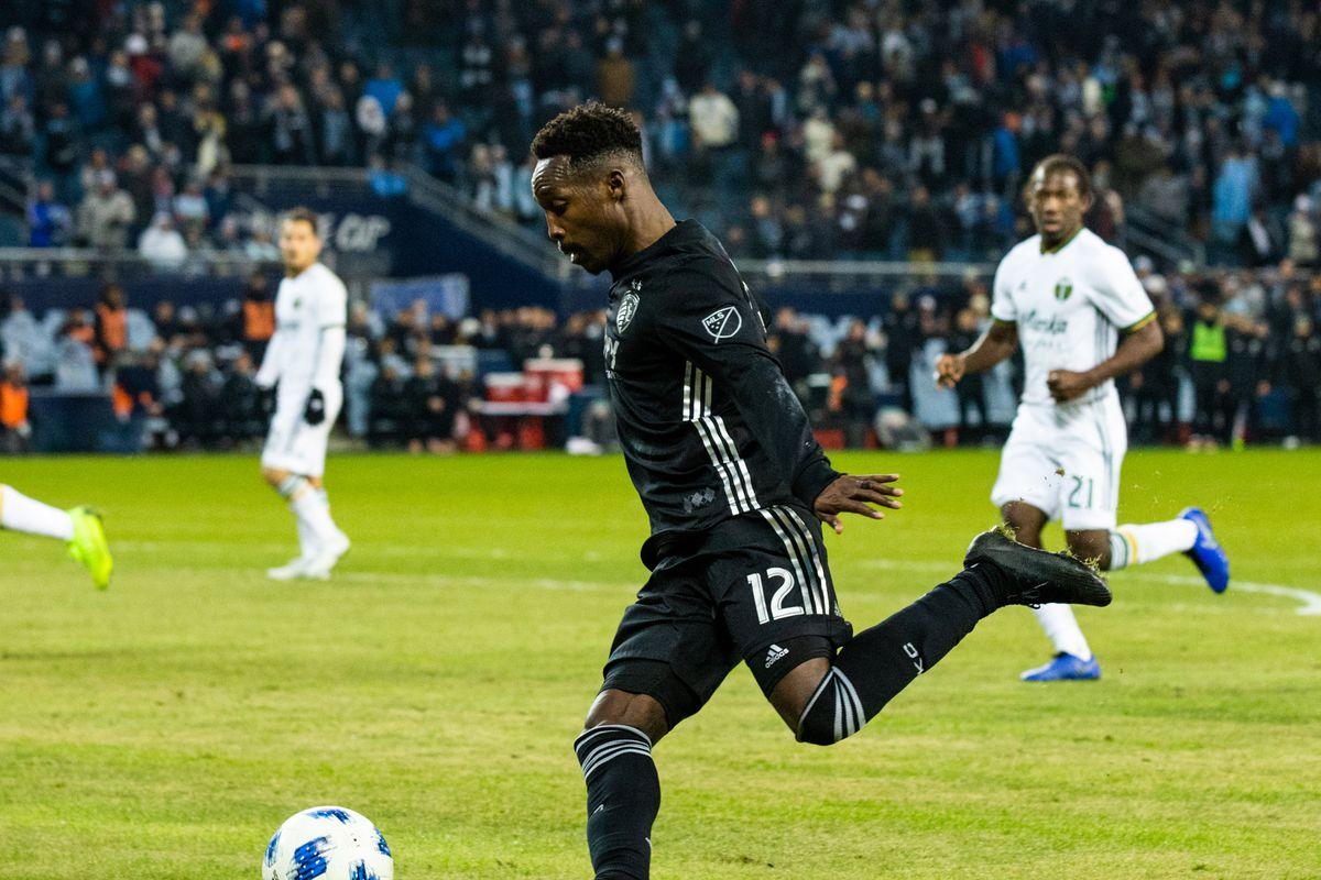 MLS: Portland Timbers at Sporting Kansas City