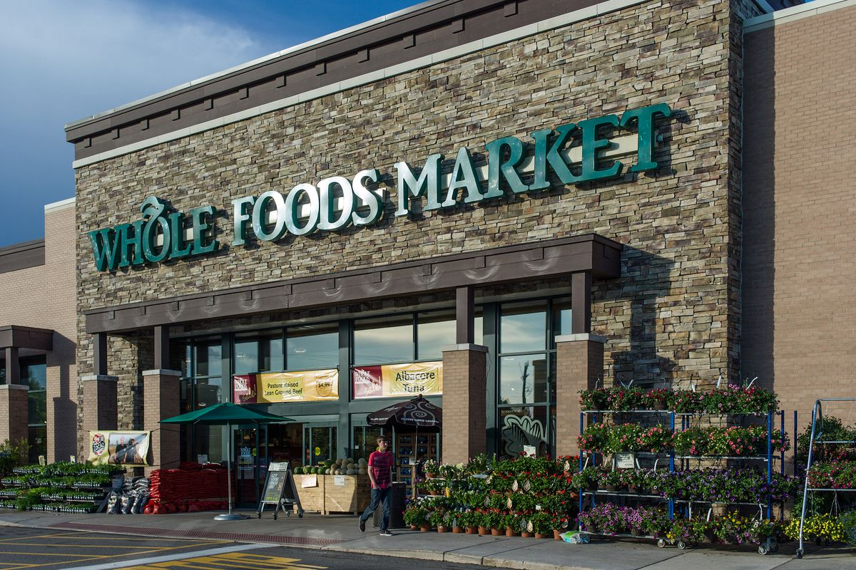 Exterior of a Whole Foods Market