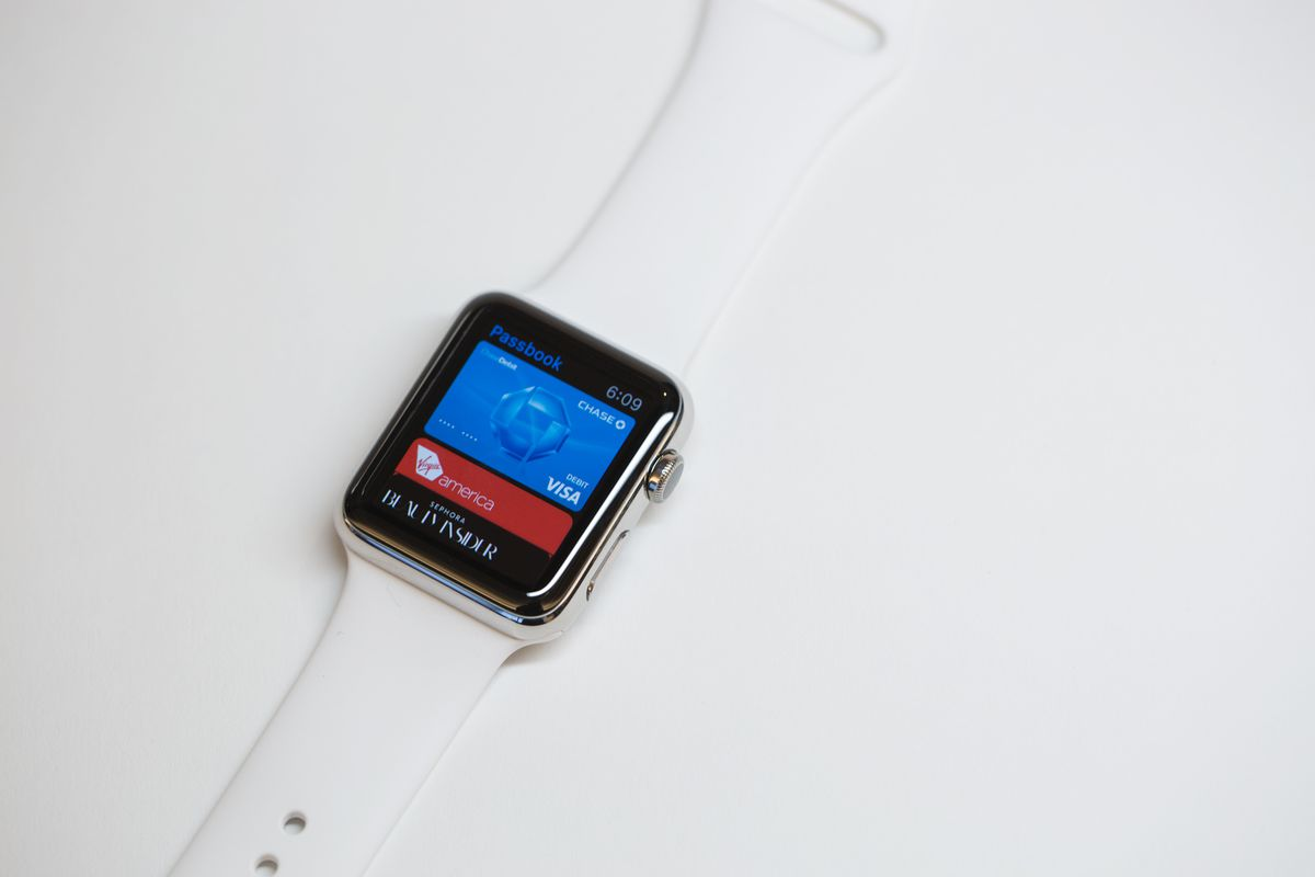 Apple Pay is a good example of how a smartwatch could be used for fast and easy authentication.