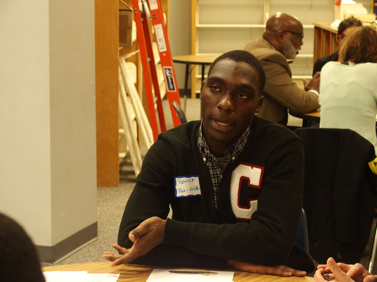 Patrick Johnson, a senior at G.W. Carver College and Career Academy explains why he recommends eliminating suspensions and expulsions for elementary students.