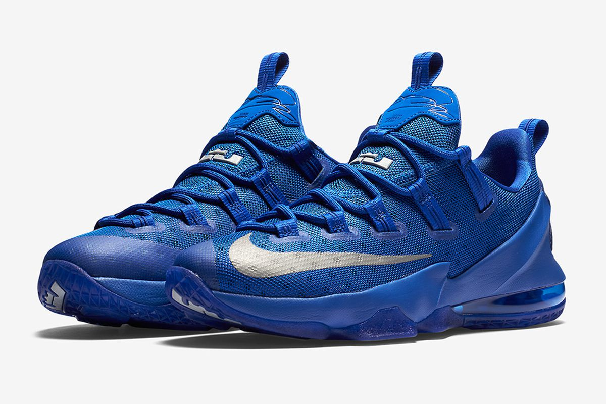 "sale retailer aa9ee 50baf Cavs Kicks: Nike LeBron 13 Low ""Game Royal"" - Fear The Sword"