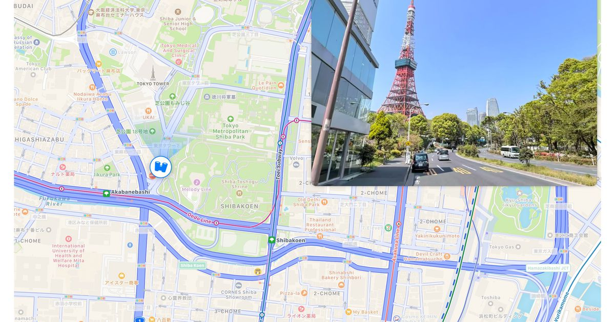 Apple Maps' Look Around feature gets first international expansion – The Verge