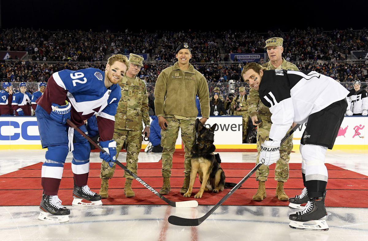 2020 Navy Federal Credit Union NHL Stadium Series - Los Angeles Kings v Colorado Avalanche