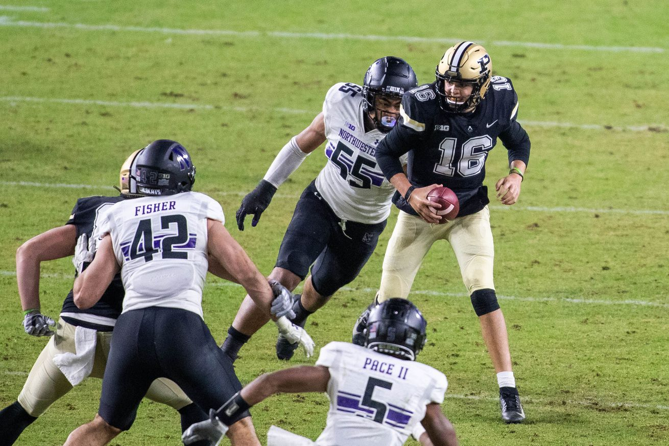 NCAA Football: Northwestern at Purdue