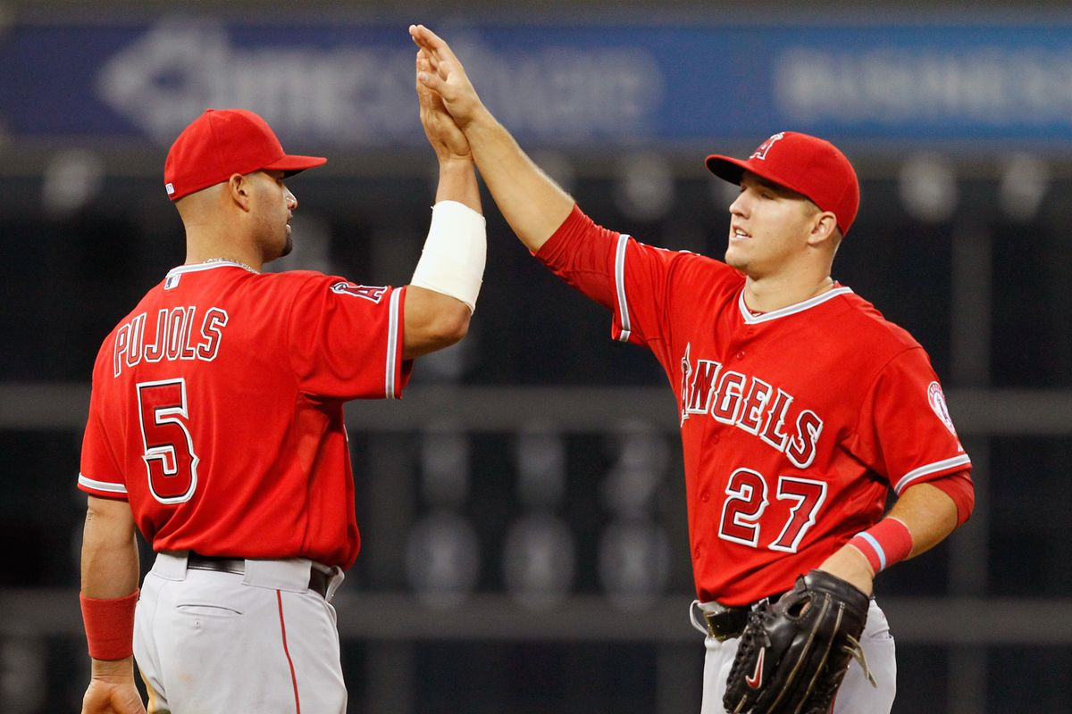 Pujols and Trout