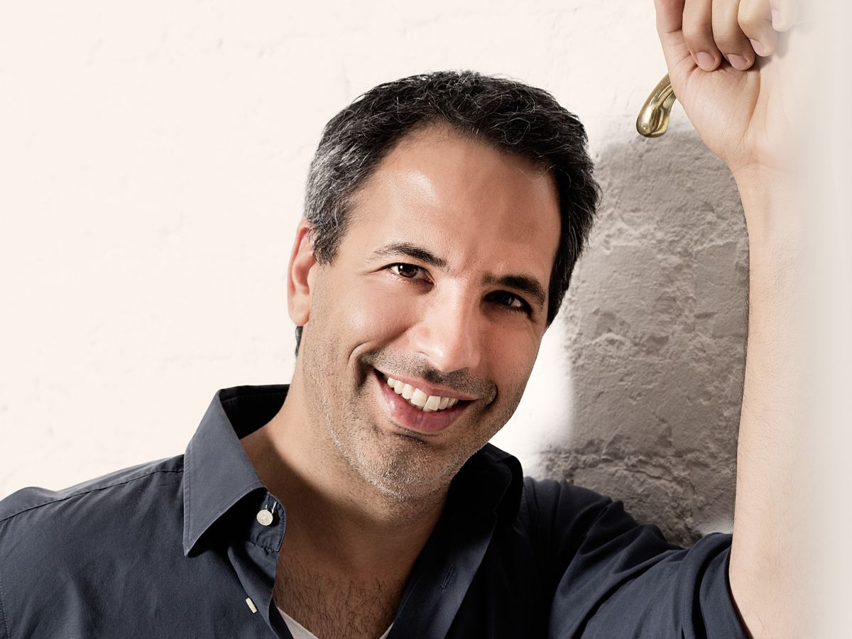 Yotam Ottolenghi has four cafes, which bear his name —in Notting Hill, Islington, Spitalfields, and Belgravia