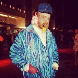 David Bischke as Vincent Van Gogh.