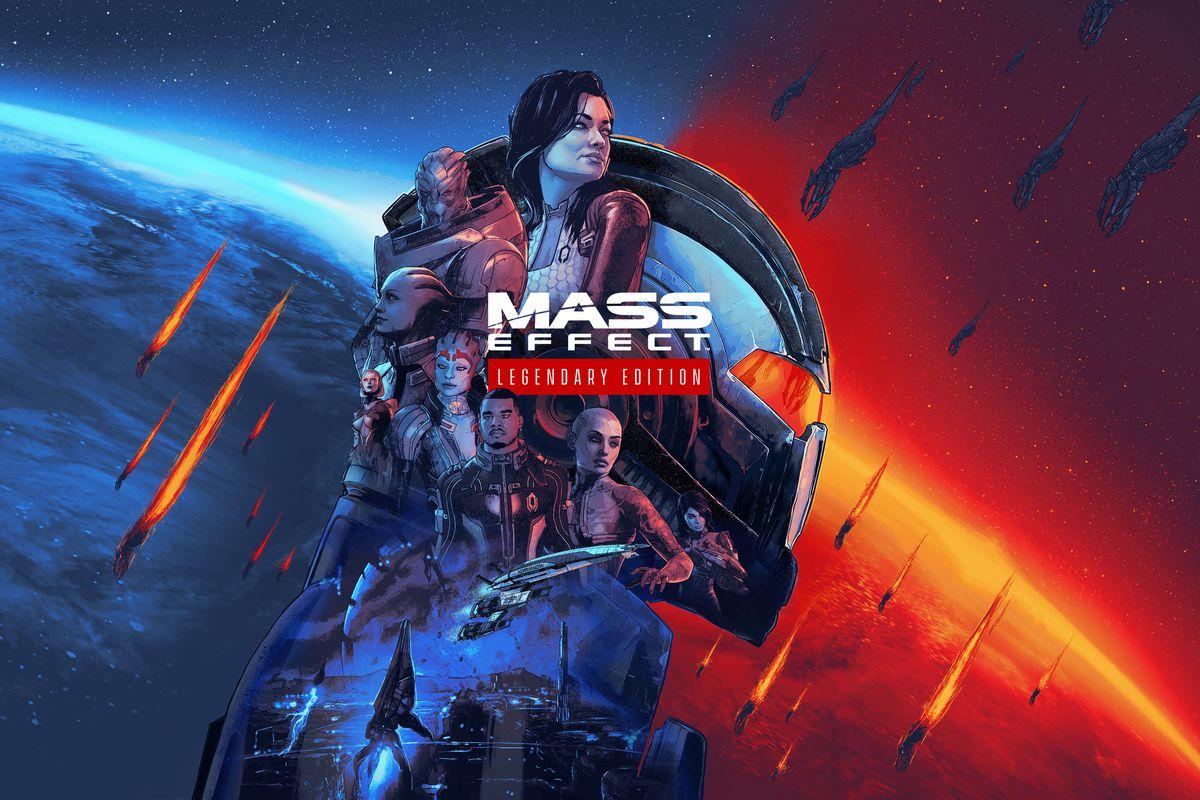 A custom made wallpaper for Mass Effect remastered