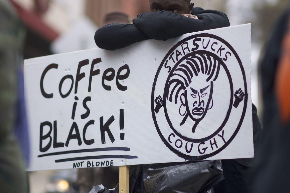 ace5108f970 Arrest of Black Men at Starbucks Spurs Outrage on Social Media - Eater