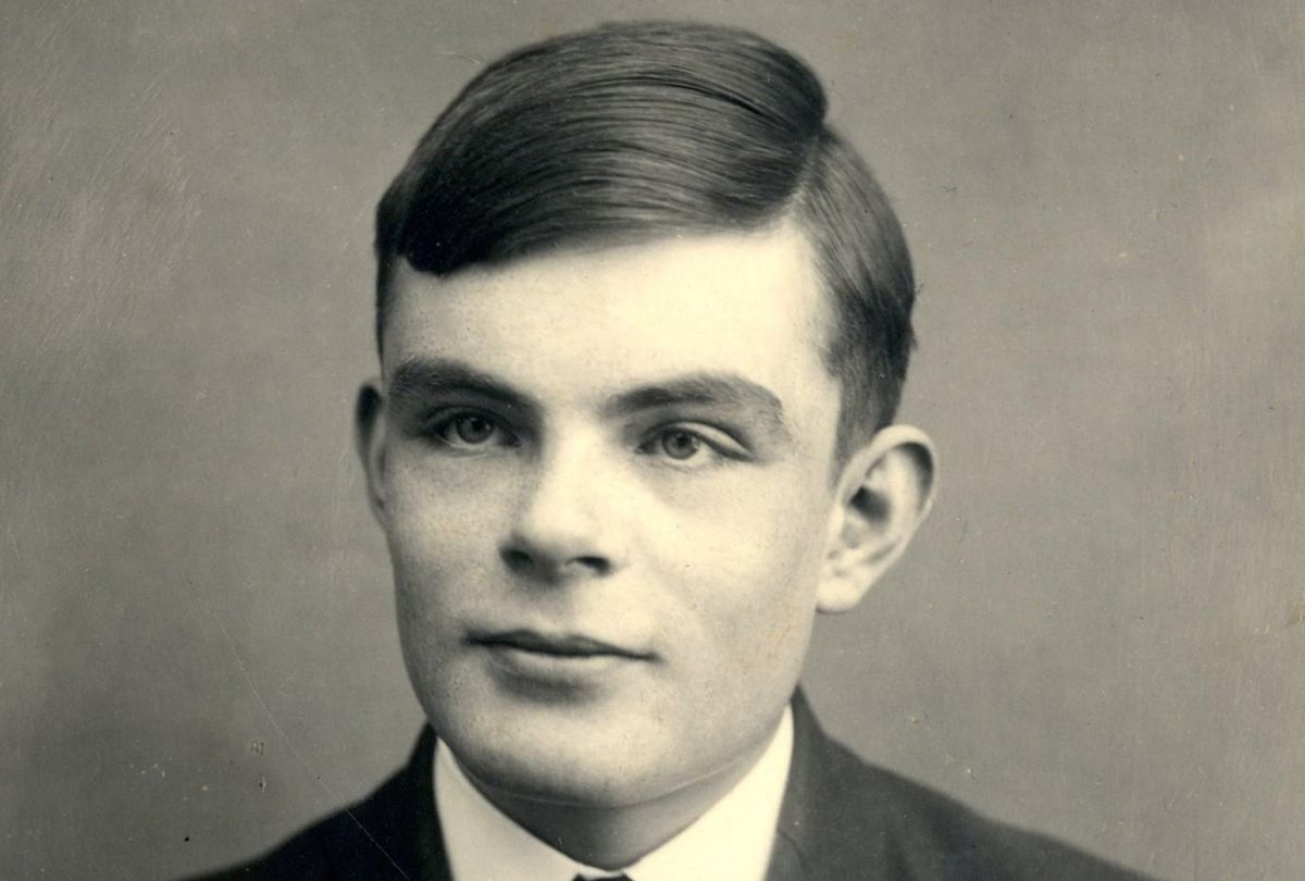 A young Alan Turing.